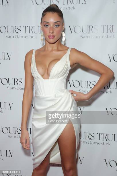"""Khadijha Red Thunder attends Celebrity Photographer Sam Dameshek's Black Tie Book Release Event For """"Yours Truly"""" at Fellow on July 29, 2021 in Los..."""