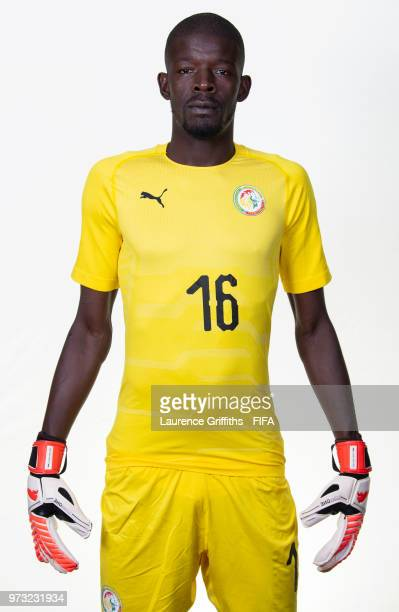 Khadim Ndiaye of Senegal poses for a portrait during the official FIFA World Cup 2018 portrait session at the Team Hotel on June 13 2018 in Kaluga...