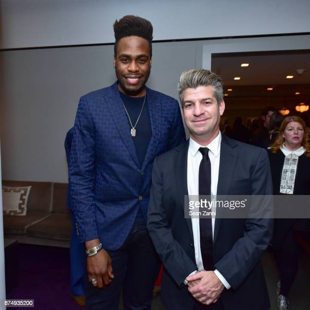 Khahoil Louisy and Ray Rogers attend The Aga Khan Foundation Gala at The Metropolitan Museum of Art on November 15 2017 in New York City