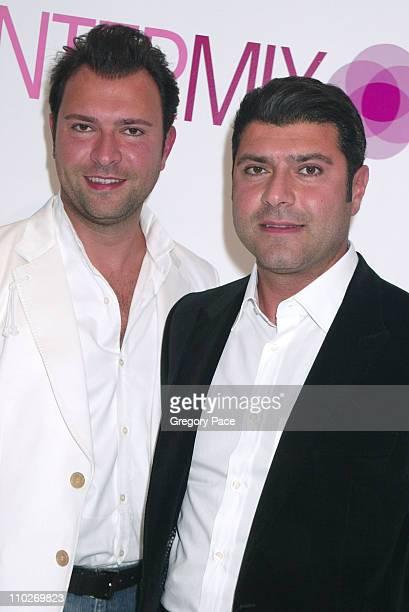 Khajak Keledjian and Haro Keledjian owners of Intermix