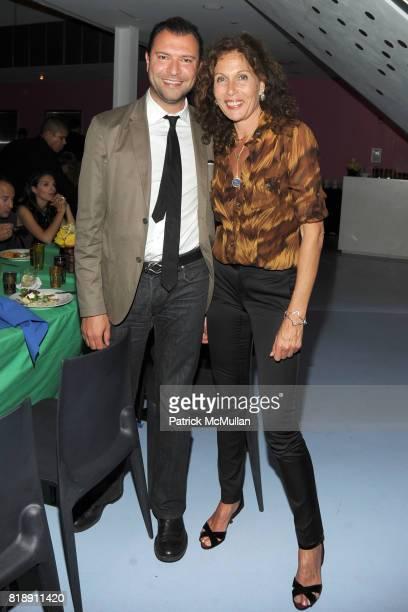 Khajak Keledjian and Jacqueline Schnabel attend DIANE VON FURSTENBERG Dinner In Honor Of CARLOS JEREISSATI at DVF Studios on May 18, 2010 in New York...