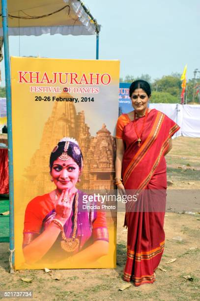 Khajuraho Dance Festival 2014 Padmashri Geeta Chandran, Madhya pradesh, India, Asia