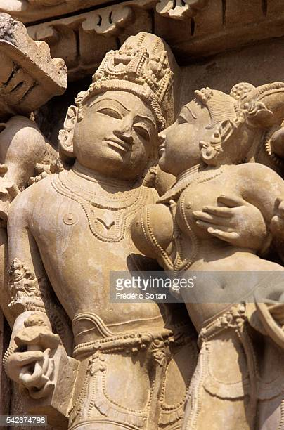 Khajuraho has the largest group of medieval Hindu and Jain temples in India famous for their erotic sculpture Jain Sculptures