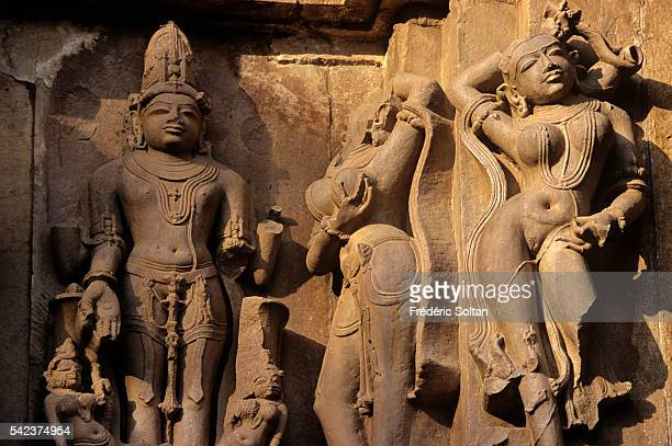 Khajuraho has the largest group of medieval Hindu and Jain temples in India famous for their erotic sculpture