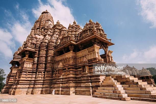 khajuraho temple, madhya pradesh - madhya pradesh stock photos and pictures