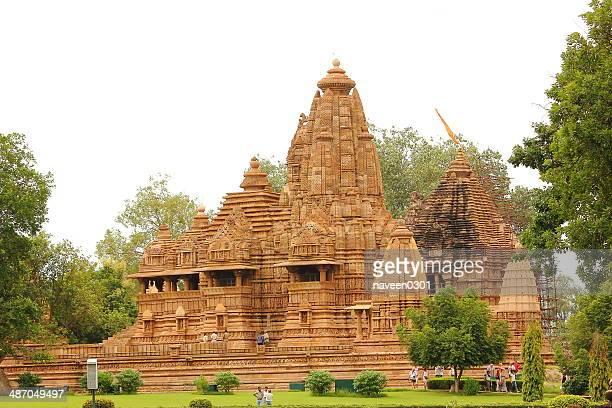 khajuraho temple - khajuraho stock pictures, royalty-free photos & images