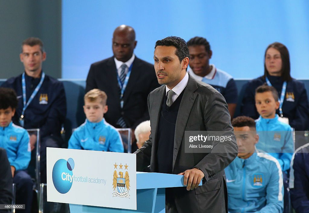 Official Launch of the Manchester City Football Academy