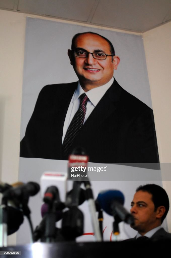Egyptian presidential candidate Khaled Ali campaign