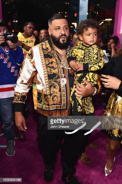 Khaled and Asahd Khaled attend the 2018 MTV Video Music Awards at Radio City Music Hall on August 20 2018 in New York City