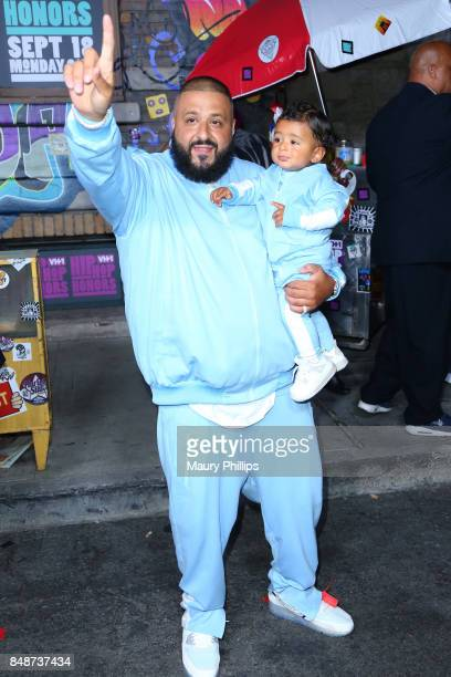 Khaled and Asahd Tuck Khaled attend VH1 Hip Hop Honors The 90s Game Changers at Paramount Studios on September 17 2017 in Los Angeles California