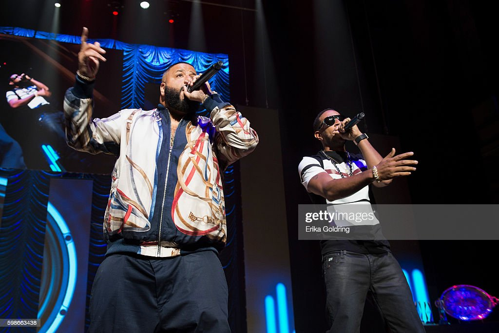 DJ Khaled and Ludacris perform at the 2016 BMI R&B/Hip-Hop Awards at Woodruff Arts Center on September 1, 2016 in Atlanta, Georgia.