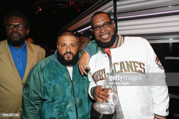 Khaled and Uncle Luke attend the BET Hip Hop Awards 2017 at The Fillmore Miami Beach at the Jackie Gleason Theater on October 6 2017 in Miami Beach...