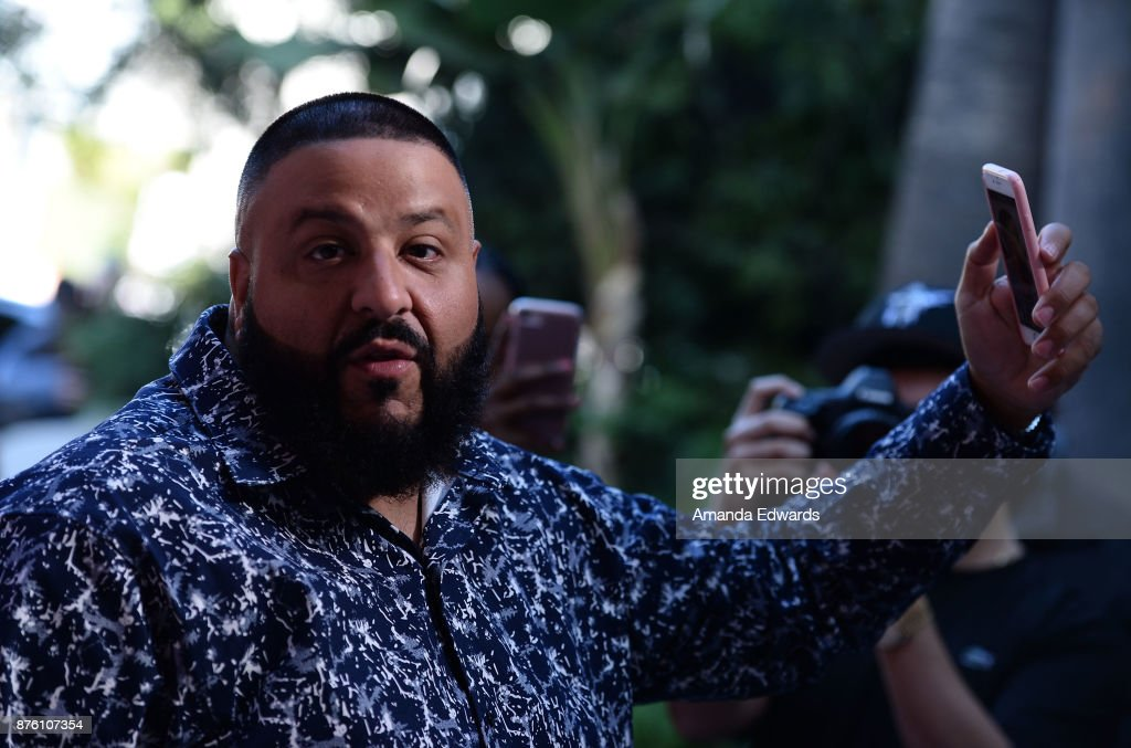 DJ Khaled arrives at Variety's 1st Annual Hitmakers Luncheon at Sunset Tower on November 18, 2017 in Los Angeles, California.