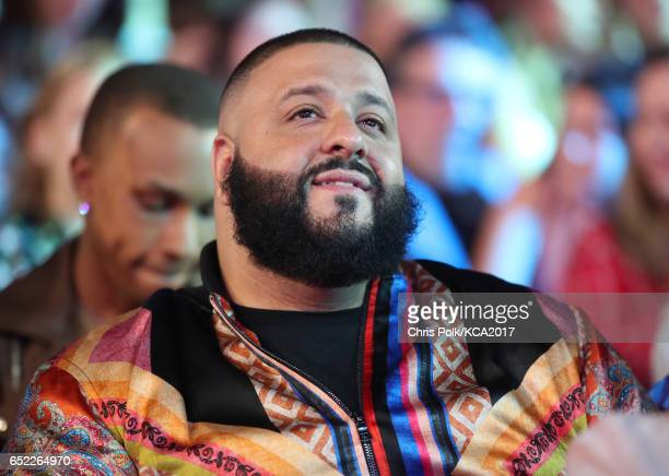 Khaled at Nickelodeon's 2017 Kids' Choice Awards at USC Galen Center on March 11 2017 in Los Angeles California