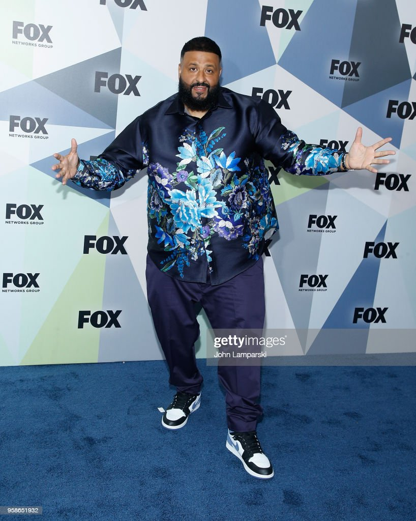 DJ Khaled attends 2018 Fox Network Upfront at Wollman Rink, Central Park on May 14, 2018 in New York City.
