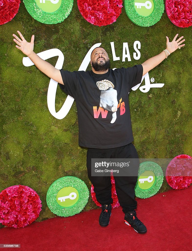 DJ Khaled attends a launch event for the Las Vegas official Snapchat channel at The Venetian Las Vegas on May 29, 2016 in Las Vegas, Nevada.