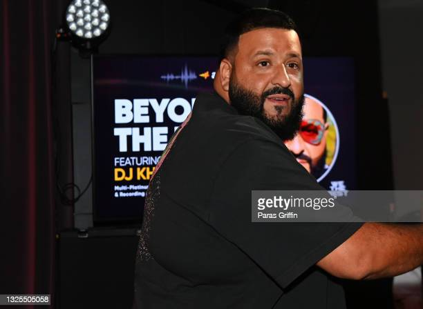 Khaled attends AudioMack Presents Beyond The Beat With DJ Khaled at The GRAMMY Museum on June 25, 2021 in Los Angeles, California.
