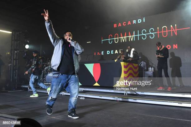Khaled attends BACARDI Swizz Beatz and The Dean Collection bring NO COMMISSION back to Miami to celebrate 'Island Might' at Soho Studios on December...