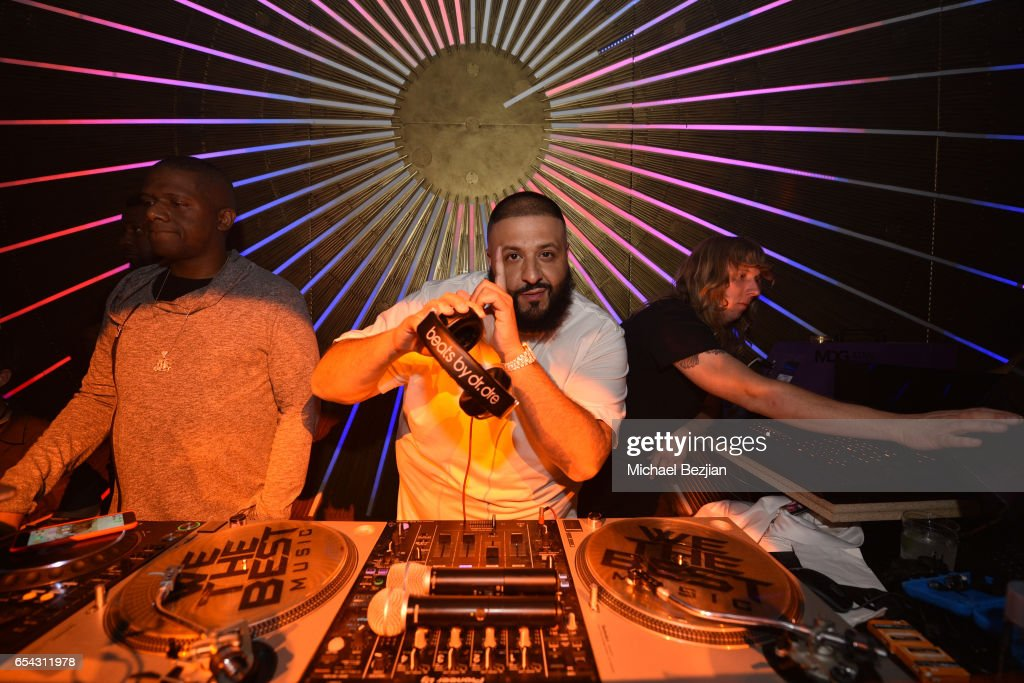 DJ Khaled attends day one of TAO, Beauty + Essex, Avenue + Luchini LA Grand Opening on March 16, 2017 in Los Angeles, California.