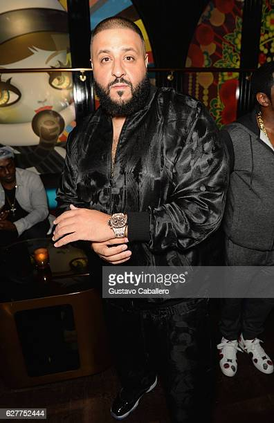 Khaled attends his birthday dinner hosted by Hublot at Komodo on December 4 2016 in Miami Florida