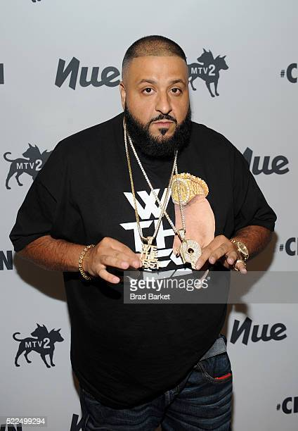 Khaled attends MTV2 special taping of CRWN with DJ Khaled at Skirball Center for the Performing Arts on April 19 2016 in New York City
