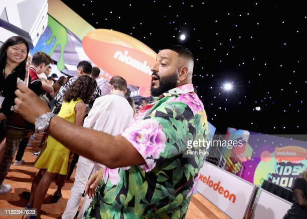 Khaled attends Nickelodeon's 2019 Kids' Choice Awards at Galen Center on March 23 2019 in Los Angeles California