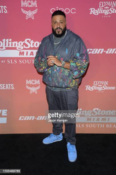 Khaled attends Rolling Stone Live Miami at SLS South Beach on February 01, 2020 in Miami, Florida.