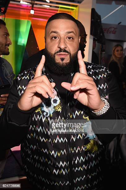 Khaled attends the 2016 American Music Awards at Microsoft Theater on November 20 2016 in Los Angeles California