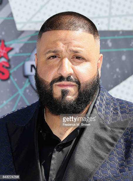 Khaled attends the 2016 BET Awards at the Microsoft Theater on June 26 2016 in Los Angeles California