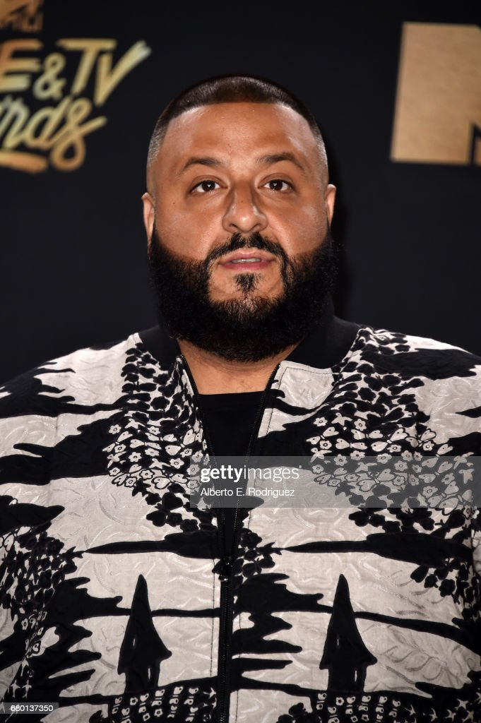 DJ Khaled attends the 2017 MTV Movie And TV Awards at The Shrine Auditorium on May 7, 2017 in Los Angeles, California.