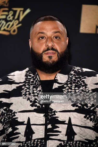 Khaled attends the 2017 MTV Movie And TV Awards at The Shrine Auditorium on May 7 2017 in Los Angeles California