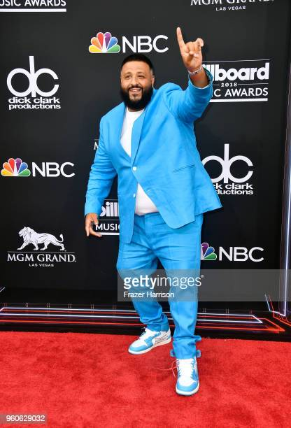 Khaled attends the 2018 Billboard Music Awards at MGM Grand Garden Arena on May 20 2018 in Las Vegas Nevada