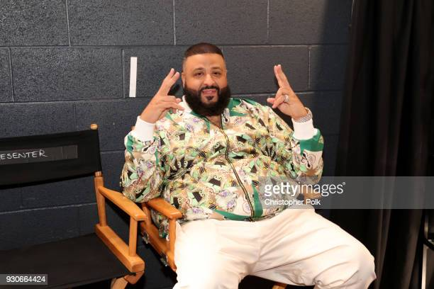Khaled attends the 2018 iHeartRadio Music Awards which broadcasted live on TBS TNT and truTV at The Forum on March 11 2018 in Inglewood California