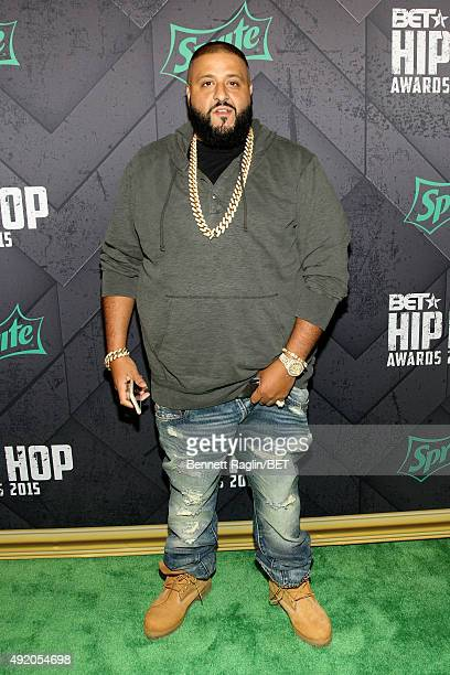 Khaled attends the BET Hip Hop Awards 2015 presented by Sprite at Atlanta Civic Center on October 9 2015 in Atlanta Georgia