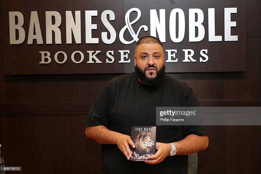 """DJ Khaled Book Signing For """"The Keys"""""""