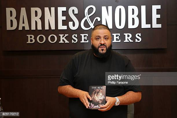 Khaled attends the book signing for 'The Keys' at Barnes Noble at The Grove on November 22 2016 in Los Angeles California