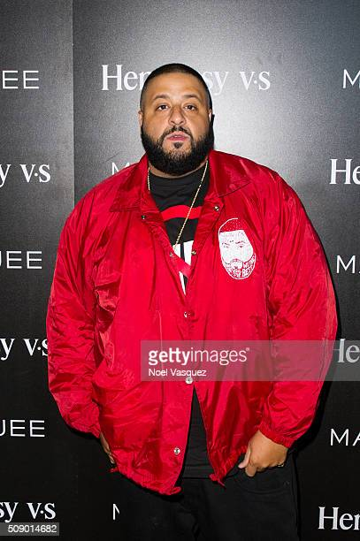 Khaled attends the Marquee Takeover at Verso Big Game Weekend presented by Hennessy VS Day 4 on February 7 2016 in San Francisco California