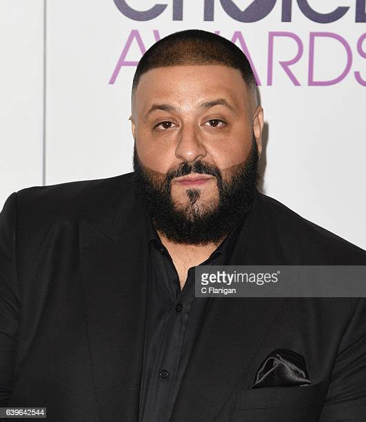 Khaled attends the People's Choice Awards 2017 at Microsoft Theater on January 18 2017 in Los Angeles California