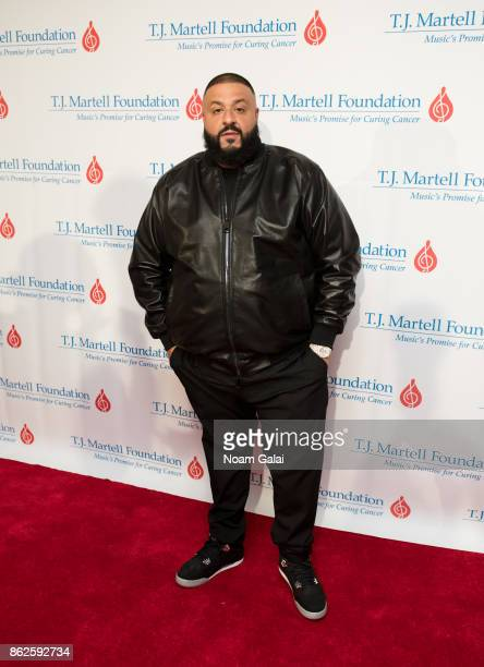 Khaled attends the TJ Martell 42nd Annual New York Honors Gala at Guastavino's on October 17 2017 in New York City
