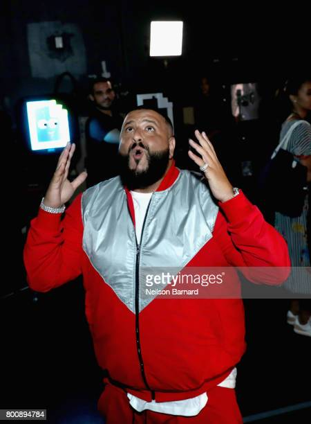 Khaled backstage at the 2017 BET Awards at Microsoft Theater on June 25 2017 in Los Angeles California
