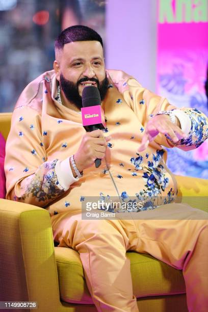 """Khaled is interviewed as """"MTV Presents: Khaled Con,"""" a DJ Khaled-hosted fan event in MTV's Times Square Studio, celebrating the release of """"Father Of..."""