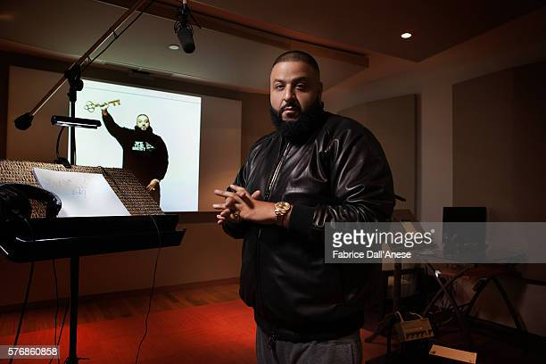 Khaled is photographed for Vanity Faircom on April 19 2016 in New York City