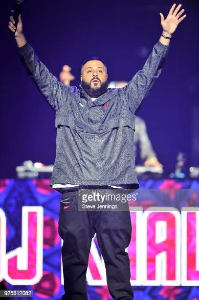 Khaled performs at SAP Center on February 28 2018 in San Jose California