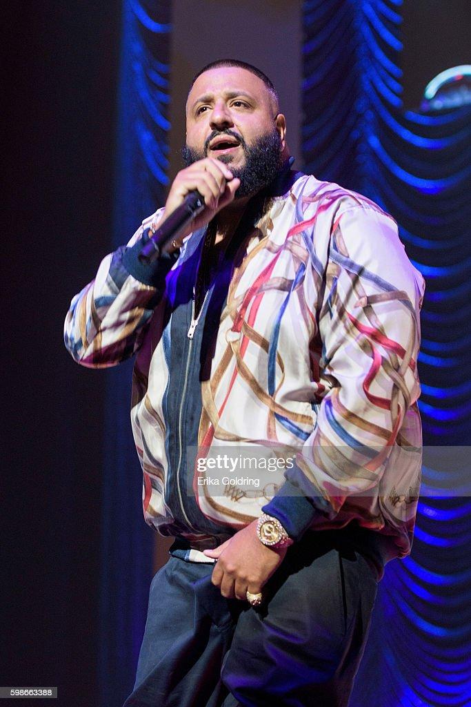 DJ Khaled performs at the 2016 BMI R&B/Hip-Hop Awards at Woodruff Arts Center on September 1, 2016 in Atlanta, Georgia.