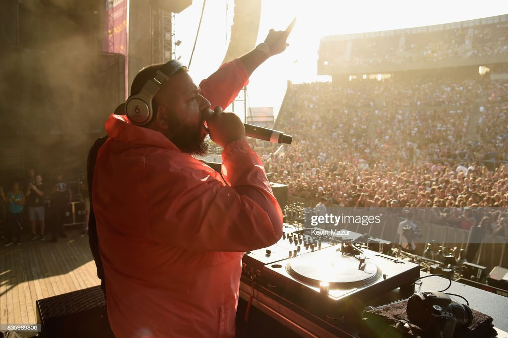 DJ Khaled performs during Day Two of 2017 Billboard Hot 100 Festival at Northwell Health at Jones Beach Theater on August 20, 2017 in Wantagh City.