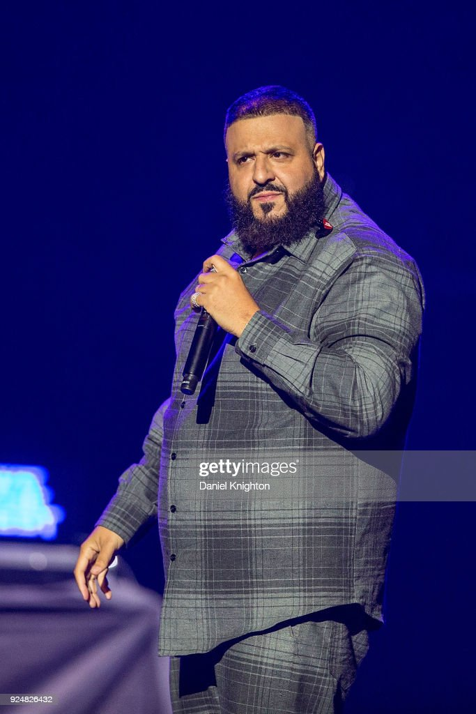 Dj Khaled Performs On Stage In Support Of Demi Lovato At Viejas Arena On February