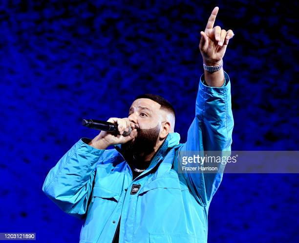 Khaled performs onstage during the EA Sports Bowl at Bud Light Super Bowl Music Fest on January 30, 2020 in Miami, Florida.