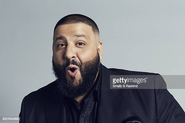 DJ Khaled poses for a portrait at the 2017 People's Choice Awards at the Microsoft Theater on January 18 2017 in Los Angeles California