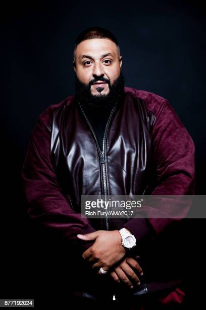 Khaled poses for a portrait during the 2017 American Music Awards at Microsoft Theater November 19 2017 in Los Angeles California