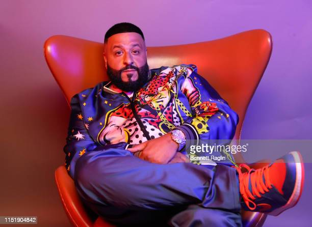 Khaled poses for a portrait during the BET Awards 2019 at Microsoft Theater on June 23, 2019 in Los Angeles, California.